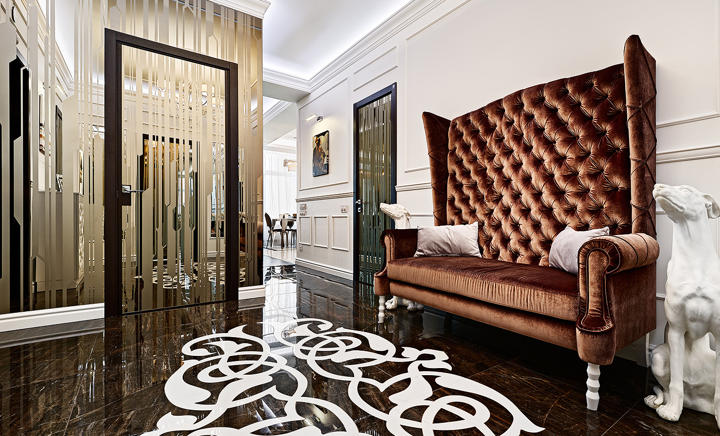 Купить скрытые двери Киев в сети салонов дверей Aprio