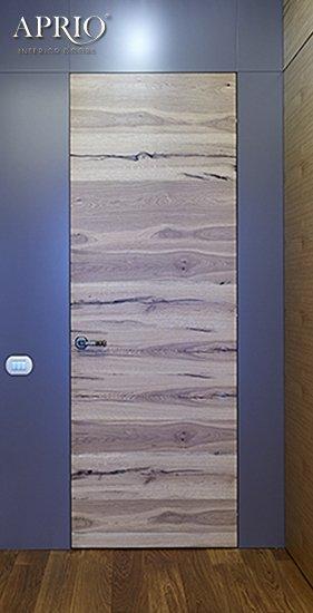 Двери скрытого монтажа, полотно-шпон на выбор