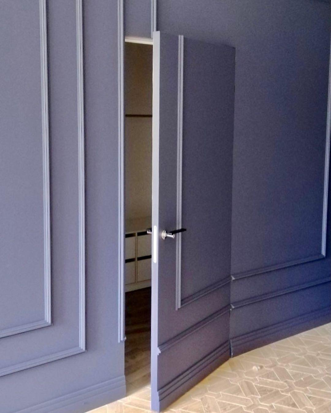 Двери скрытого монтажа покраска Little Green 1