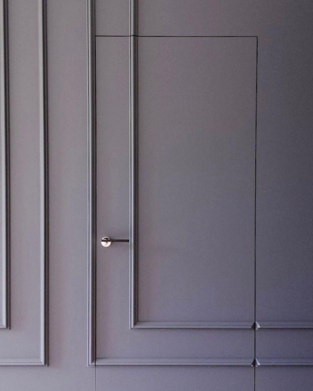 Двери скрытого монтажа покраска Little Green 4