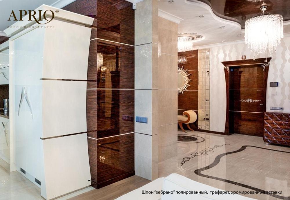 Двері класу luxury для ЖК «Новопечерські Липки», м.Київ 5